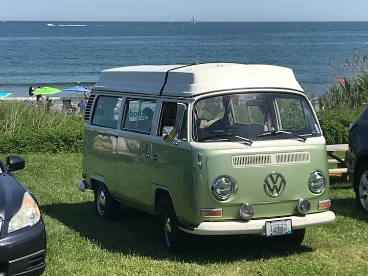 Retro VW Camper perfect for Beach Trips!