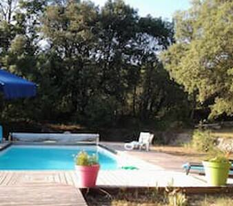 appartement indépendant dans villa en Provence - Correns - Leilighet