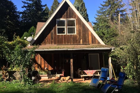 Charming Forest Park Barn House - Portland - Huis