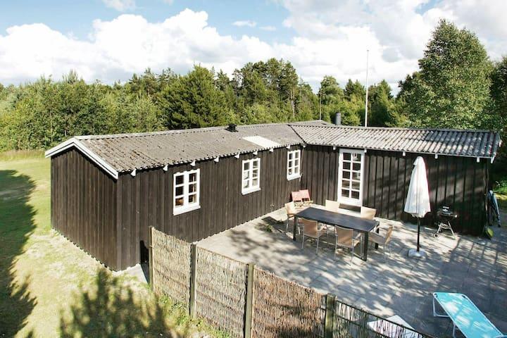 Gemütliches Ferienhaus in Jerup Dänemark mit Terrasse
