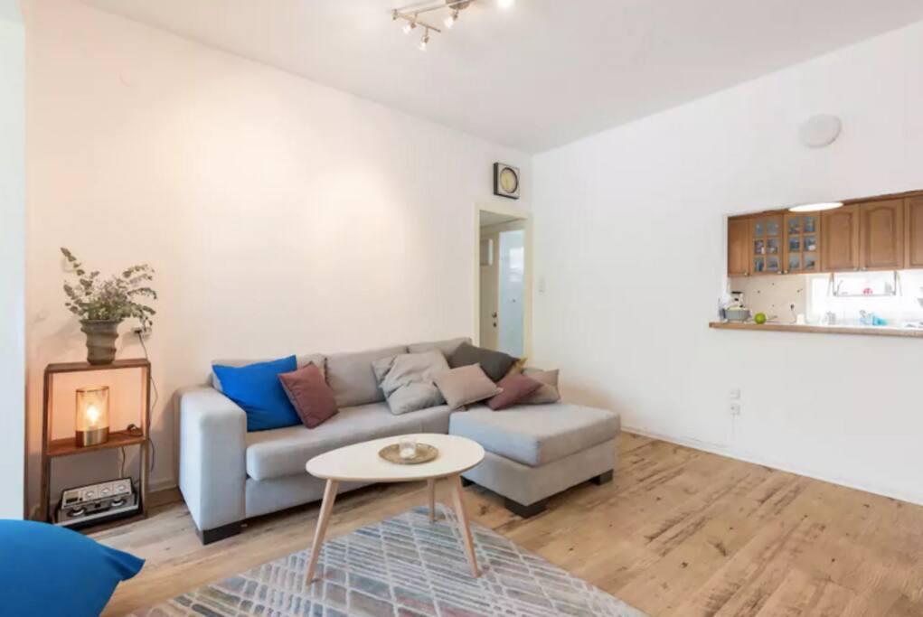Living Room + Open Kitchen window