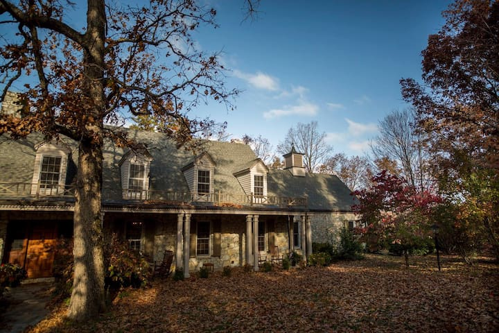 12,000 sq ft Mansion  1,500 acres Ozark Mountains