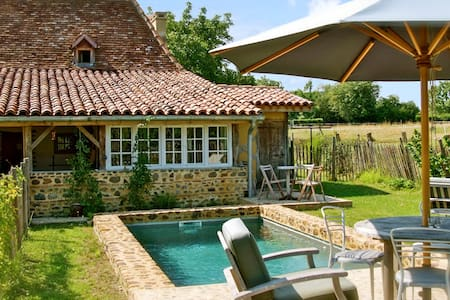 Enchanting house with pool - Malaussanne - Casa