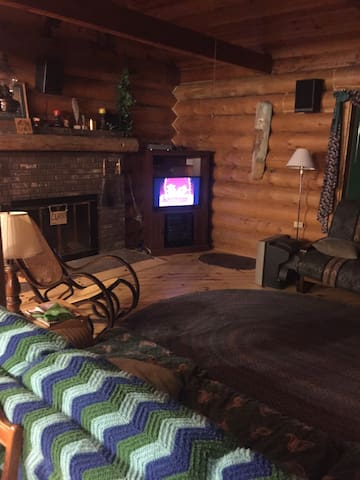 Cozy Winter Log Cabin Get Away! - Roscommon