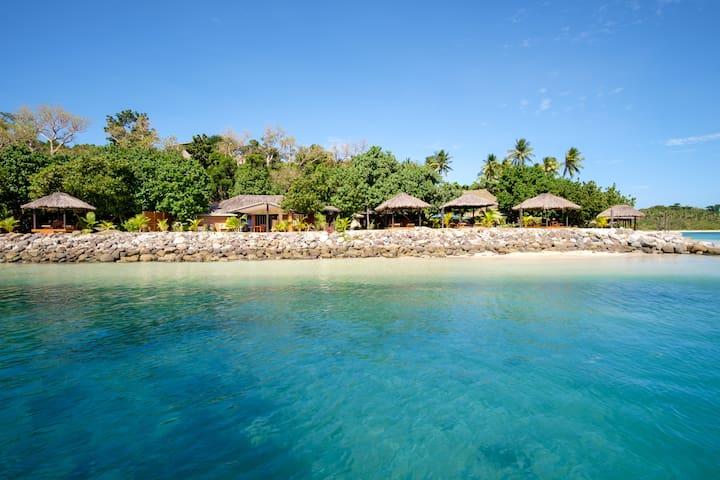 Deluxe Beachfront Villa  - Nanuya Island Resort
