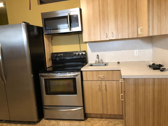 Cozy 1 bedroom apartment with Kitchen