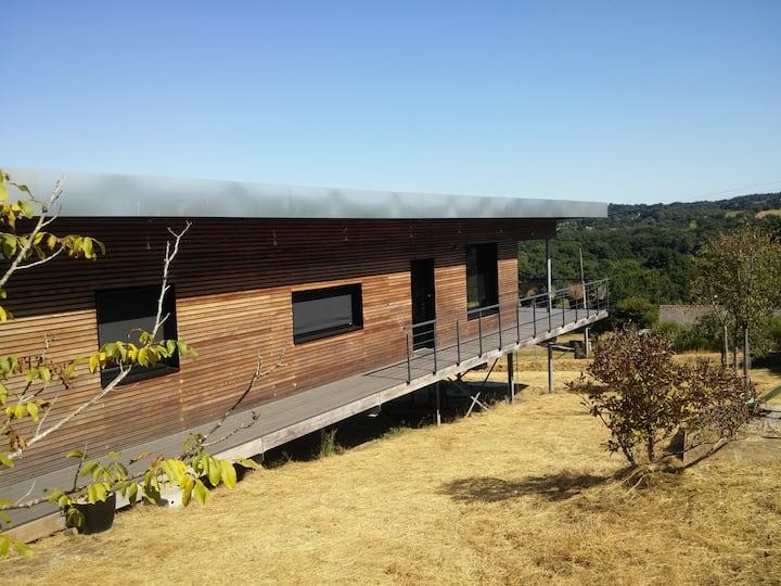 Maison architecte avec vue sur la nature + piscine
