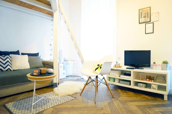 Cozy studio close to Place des Terreaux - Lyon - Departamento