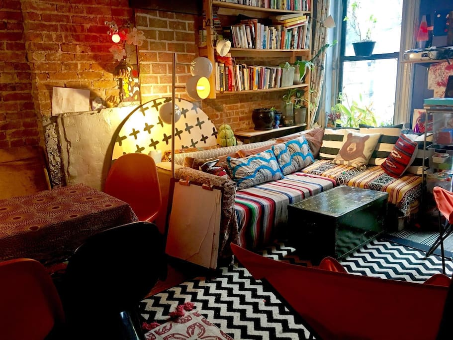 A shared living room