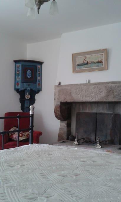 cheminée et coin salon