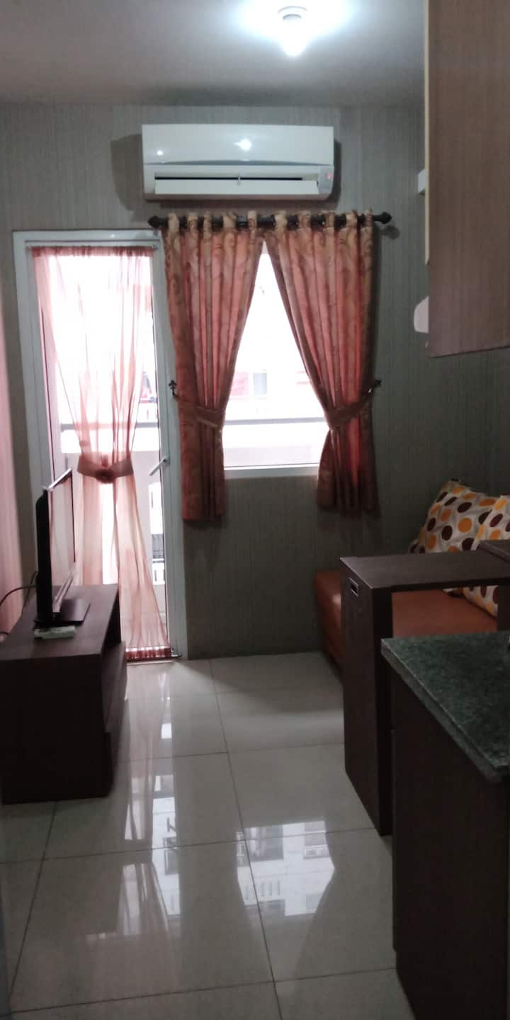 2 BR Apartment in Central Jakarta