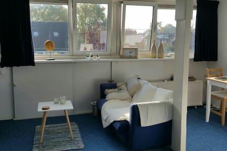 Ruime woonkamer op 2e verdieping - Veenendaal