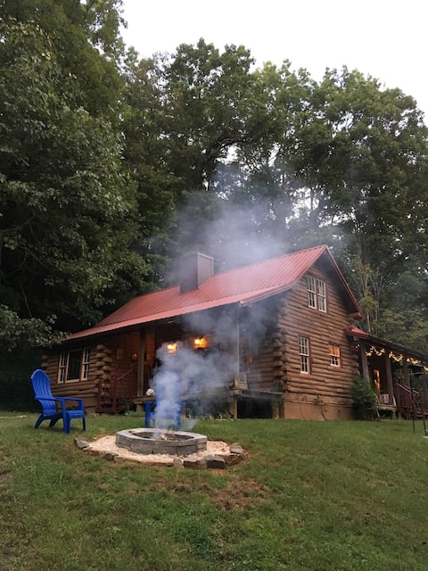 3 BR Renovated Log Cabin in Pisgah Forest