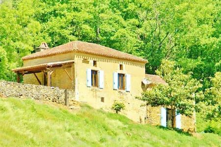 Bézétou, maison de charme périgourdine - Saint-Cernin-de-l'Herm - Casa
