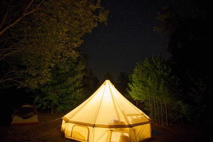 Get Smart & Restart @ Camp Squid Off The Grid!Yurt
