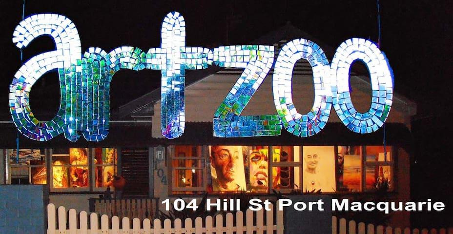 ARTZOO artist's home Port Macquarie - Port Macquarie - Huis