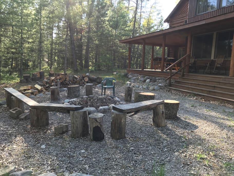 Main Lodge Fire Pit