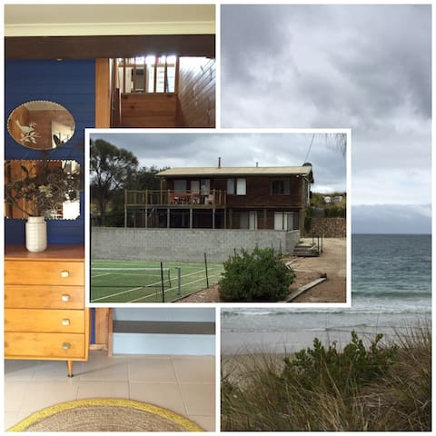 Holiday on the beach, tennis court - Primrose Sands - Huis