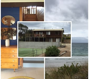 Holiday on the beach, tennis court - Primrose Sands - House