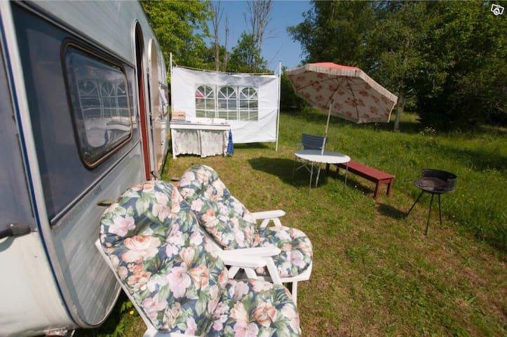 Enkelt boende utanför turiststråken på Gotland