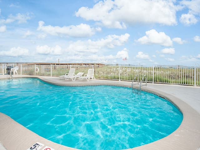 Spend leisurely days by one of the pools.