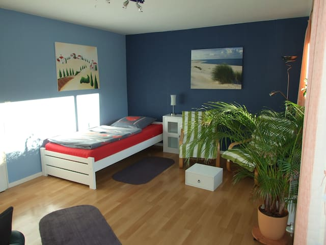Großes Zimmer mit Balkon im Reihenmittelhaus - Braunschweig - Huis