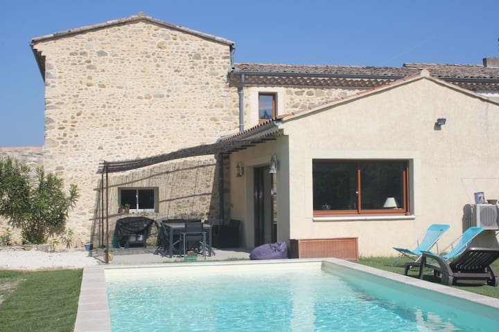 Maison en pierre au calme - Bonlieu-sur-Roubion - House