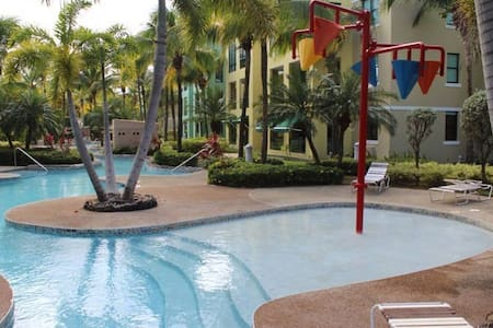 Family-friendly Beachfront Apartment -New Listing