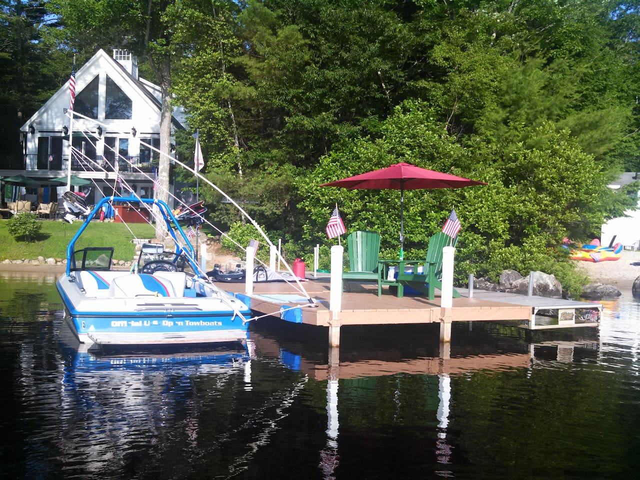 Private Dock up to 21 Ft