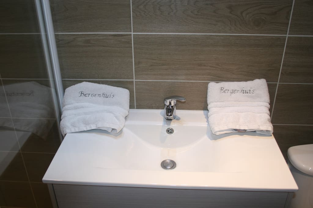 salle de bains neuve et fonctionnelle