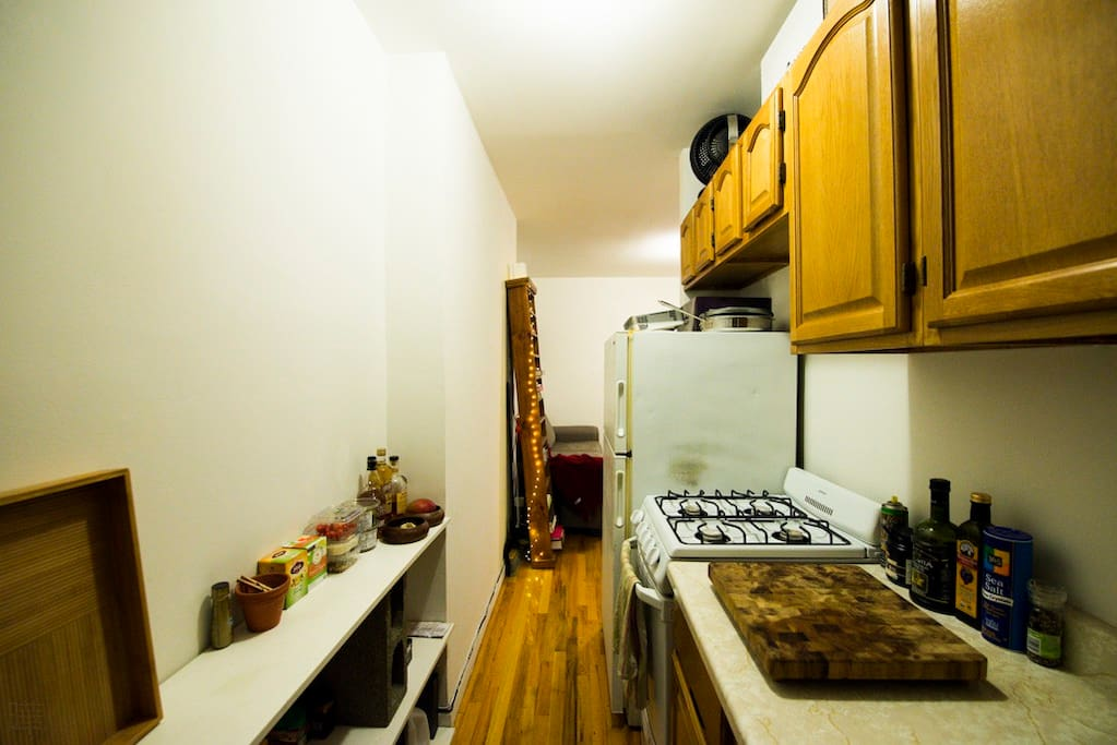 Cozy brooklyn kitchen!