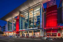 George R. Brown Convention Center only .6 blocks away  a ten minute walk!