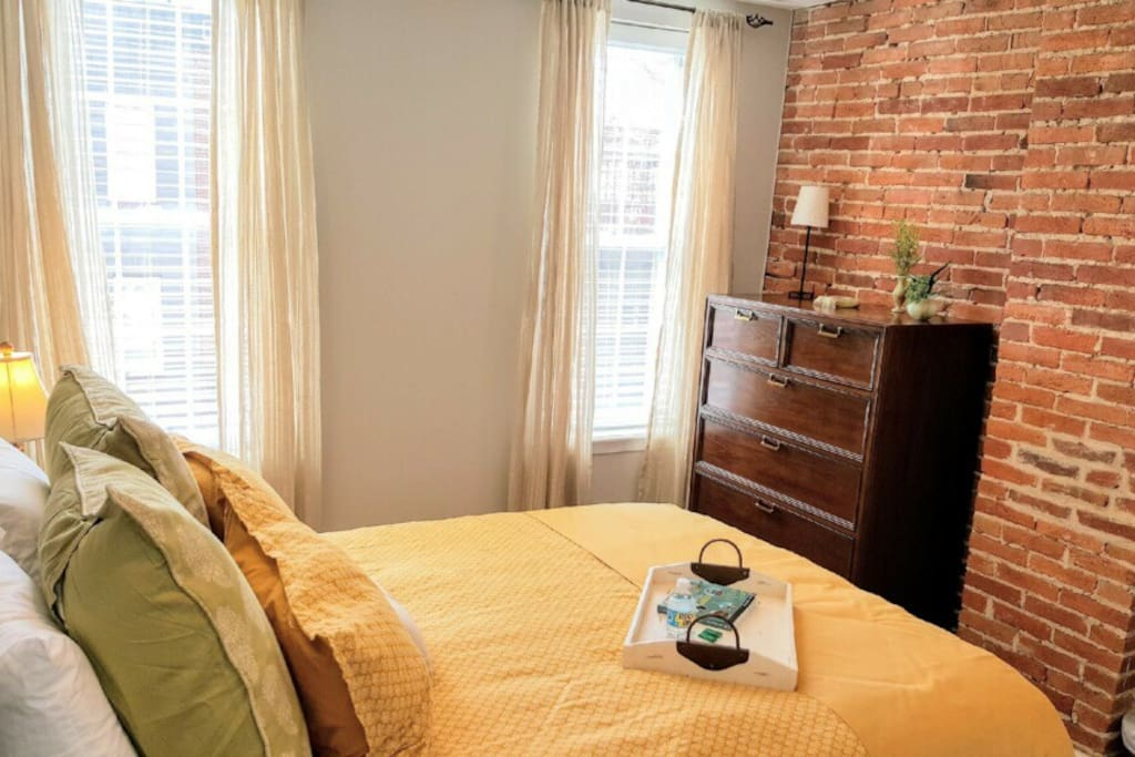 Light filled bedrooms - Front with pillow top queen mattress