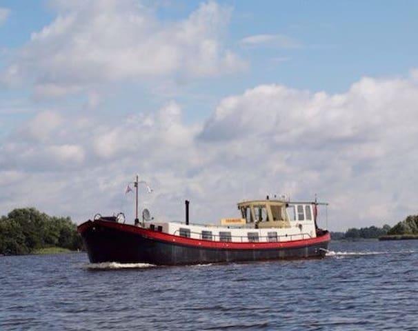 Unieke plek op fantastische locatie - Meerkerk - Båt