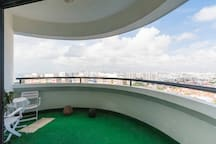 Penthouse+1 BedroomKitchenLivingWIFI Sea nCityView