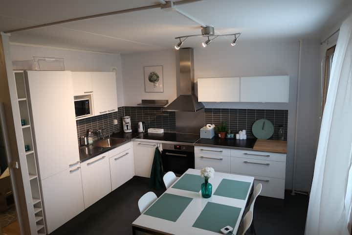 Cozy Flat in Espoo with Free Parking