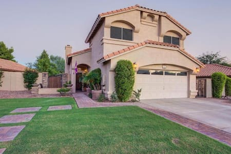 Desert Resort Home, South Phoenix (Ahwatukee)