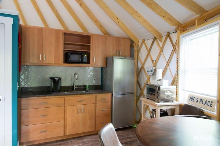 JP's Yurt