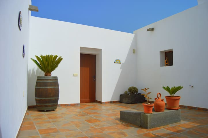Casa Tití. with private open air courtyards.
