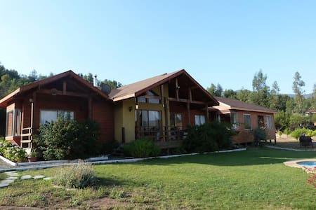 Cabaña familiar en Laguna de Aculeo