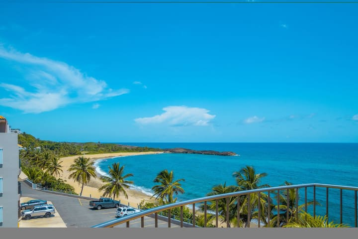Paradise Ocean Front Penthouse with Beach Access