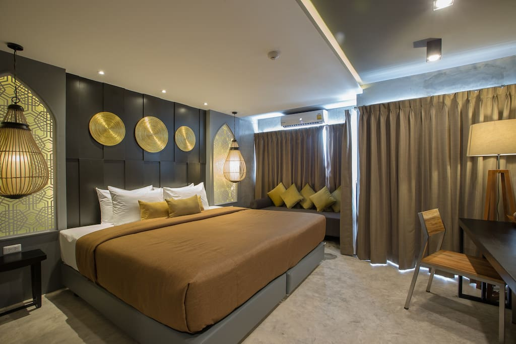 superior king or twin room with shower