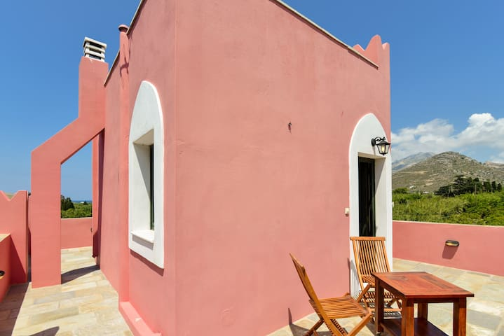 See Naxos Red apartment  within a quiet farm