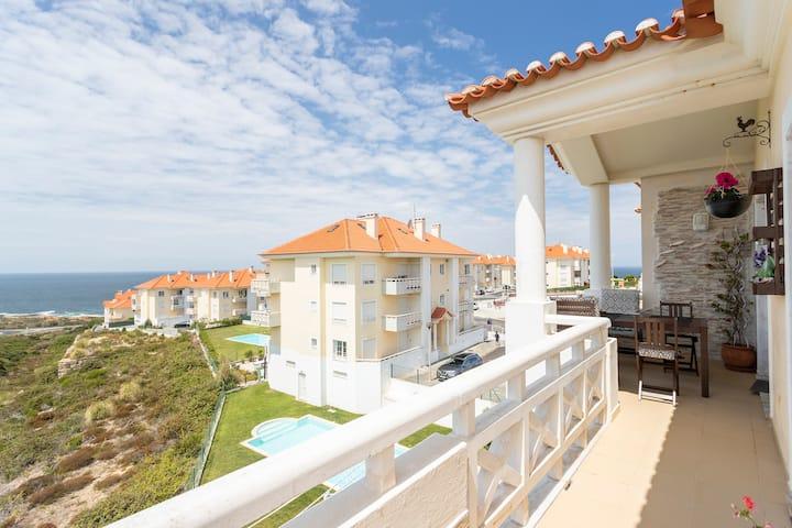 DUPLEX for Families Ocean View, SwimPool, terraces