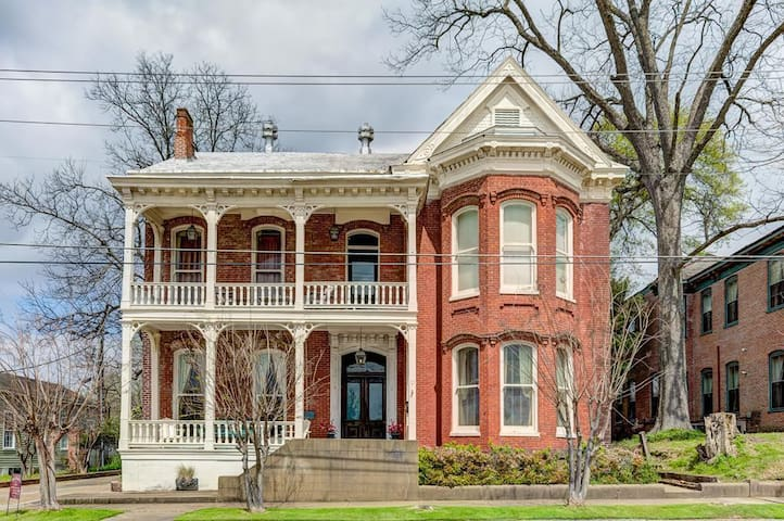 Historic Victorian charm with modern amenities.