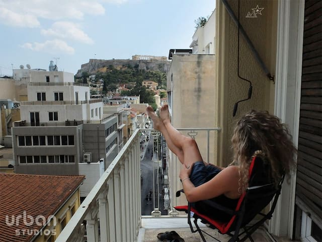 UrbanStudios-Great Acropolis View@metroMonastiraki