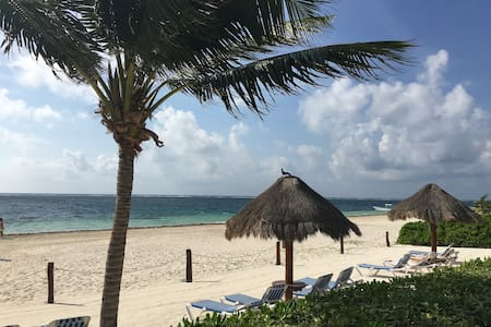 Apartment on the beach. - Puerto Morelos