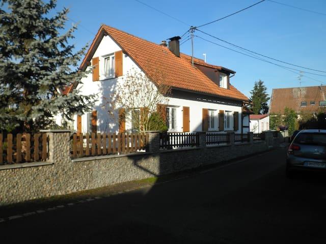 chambre privé  25 m2 - Illkirch-Graffenstaden - Casa