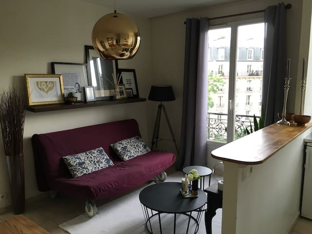 Studio 32m2 cosy Paris 13ème