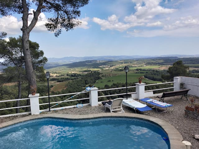 Rural House in Alt Penedès with Private Pool
